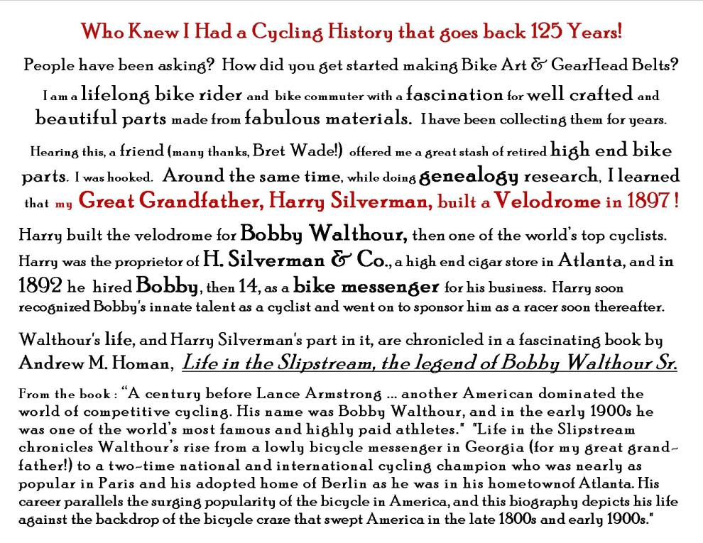 Harry Silverman History for Website with Red